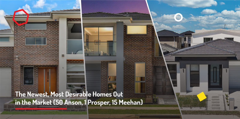 The Newest, Most Desirable Homes Out in the Market (50 Anson, 1 Prosper, 15 Meehan)