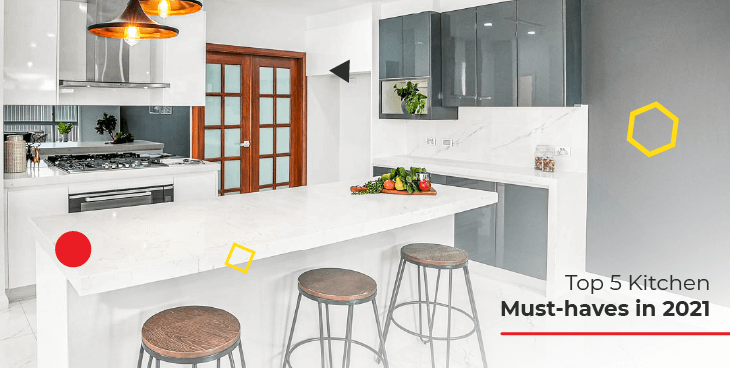 Top 5 Kitchen Must-haves in 2021